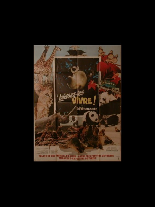 Affiche du film LAISSEZ LES VIVRES