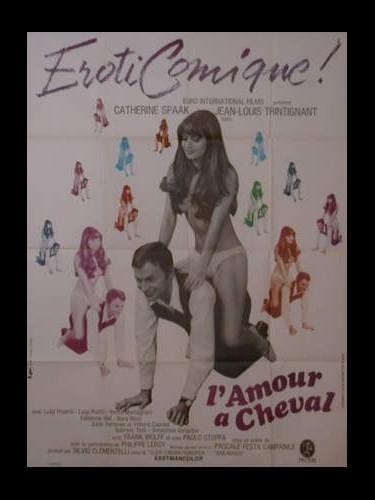 Affiche du film L'AMOUR A CHEVAL