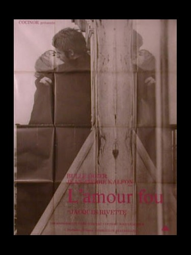 Affiche du film L'AMOUR FOU