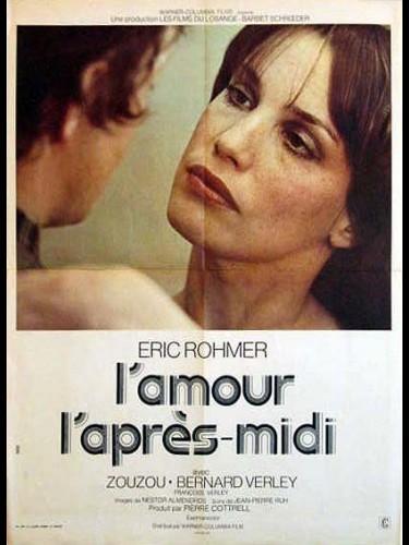 Affiche du film L'AMOUR L'APRES MIDI