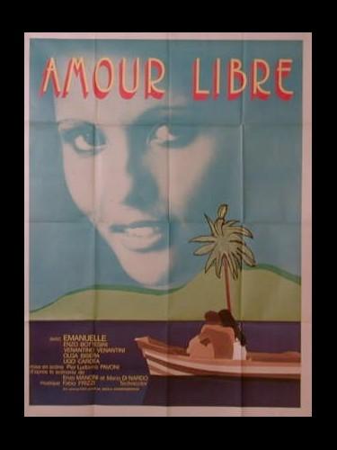 Affiche du film L'AMOUR LIBRE