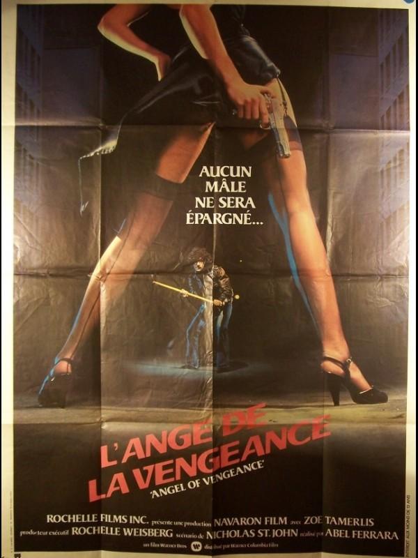 Affiche du film L'ANGE DE LA VENGEANCE