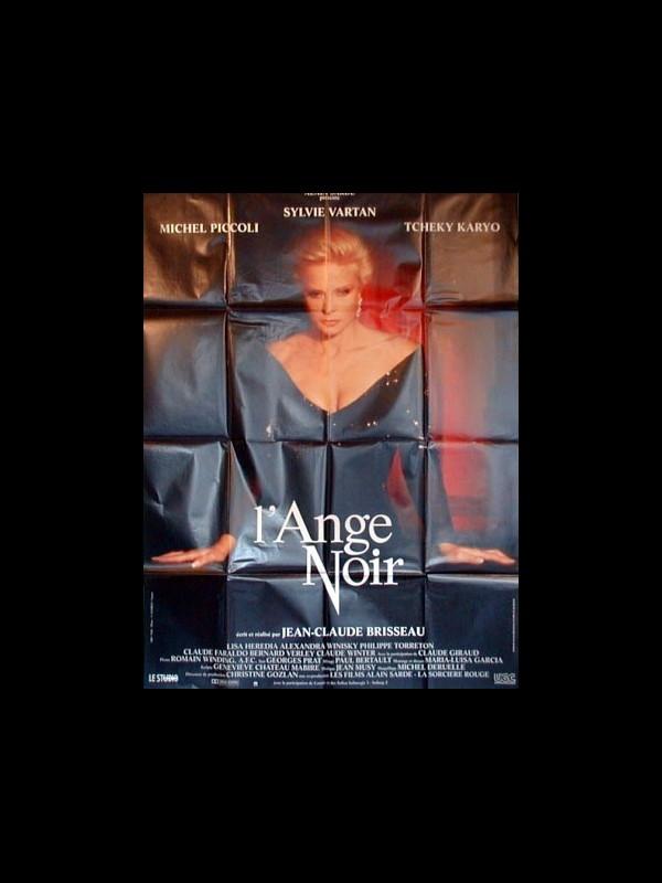 Affiche du film L'ANGE NOIR