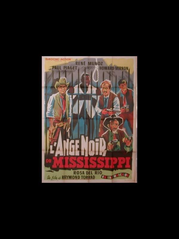 Affiche du film L'ANGE NOIR DU MISSISSIPPI - BIENVENUDO PADRE