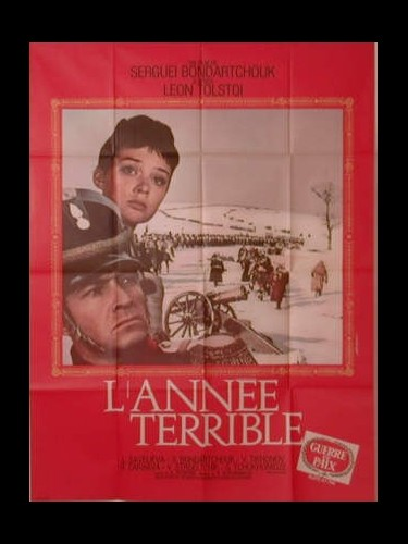 Affiche du film L'ANNEE TERRIBLE