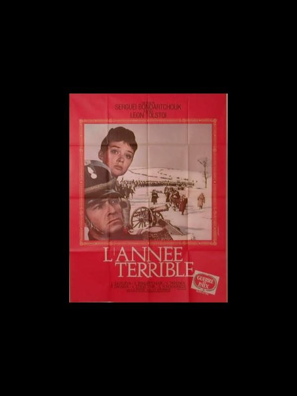 Affiche du film L'ANNEE TERRIBLE