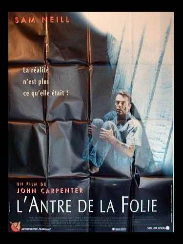 Affiche du film L'ANTRE DE LA FOLIE - IN THE MOUTH OF MADNESS