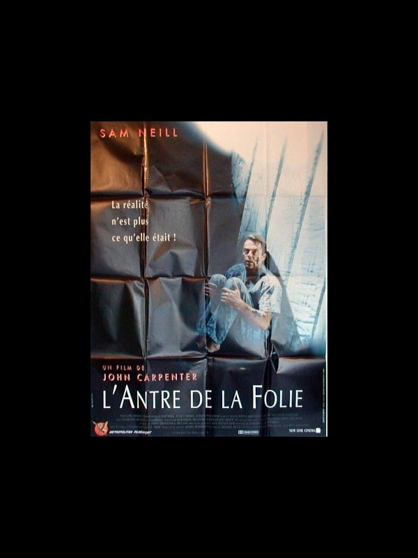 Affiche du film L'ANTRE DE LA FOLIE - IN THE MOUTH OF MADNESS