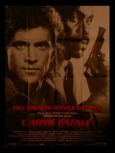 Affiche du film L'ARME FATALE - LETHAL WEAPON