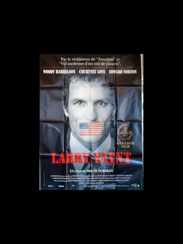 Affiche du film LARRY FLINT