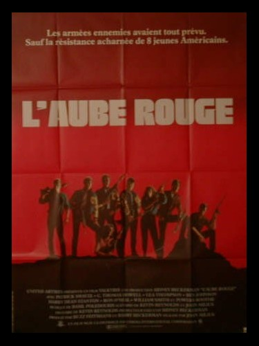 Affiche du film L'AUBE ROUGE - RED DAWN