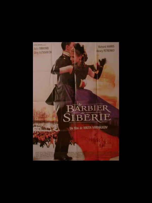 Affiche du film LE BARBIER DE SIBERIE