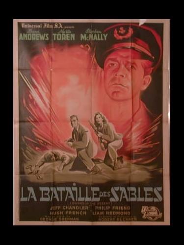 Affiche du film LE BATAILLON DES SABLES