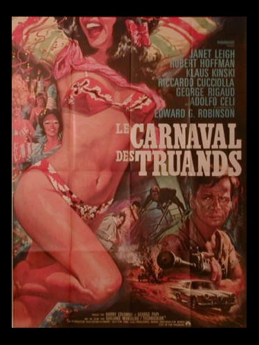 Affiche du film LE CARNAVAL DES TRUANDS - AD OGNI COSTO