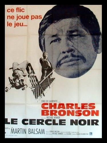 Affiche du film LE CERCLE NOIR - THE STONE KILLER