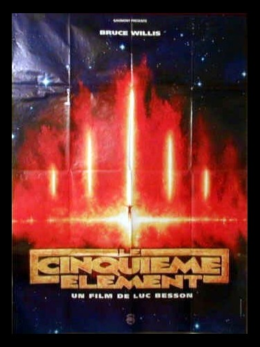 Affiche du film LE CINQUIEME ELEMENT (PREVENTIVE 2)