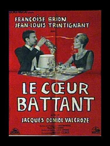 Affiche du film LE CŒUR BATTANT