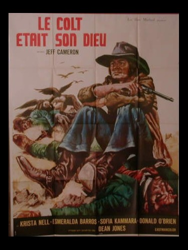 Affiche du film LE COLT ETAIT SON DIEU