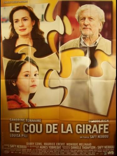 Affiche du film LE COU DE LA GIRAFE