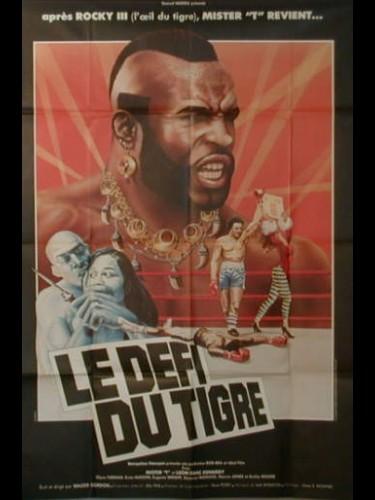 Affiche du film LE DEFI DU TIGRE - PENITENTIARY II