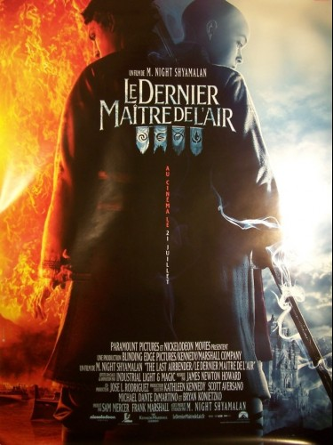 Affiche du film LE DERNIER MAITRE DE L'AIR -TEASER B- - THE LAST AIRBENDER