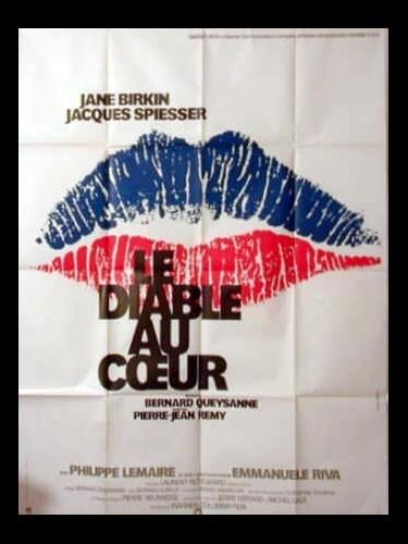 Affiche du film LE DIABLE AU CŒUR