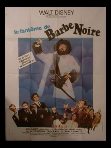 Affiche du film LE FANTOME DE BARBE NOIRE