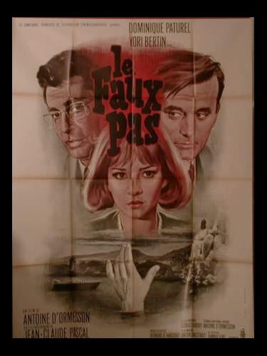 Affiche du film LE FAUX PAS