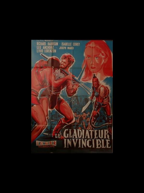 Affiche du film LE GLADIATOR INVINCIBLE