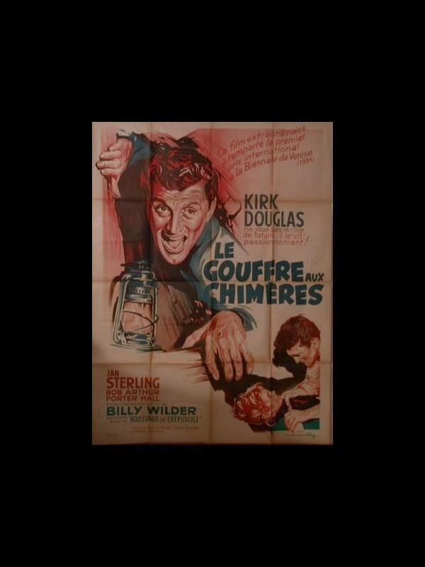 Affiche du film LE GOUFFRE AUX CHIMERES