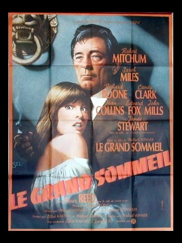 Affiche du film LE GRAND SOMMEIL - THE BIG SLEEP