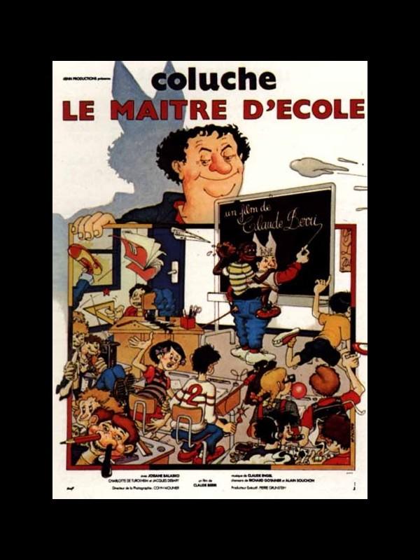 Affiche du film LE MAITRE D'ECOLE