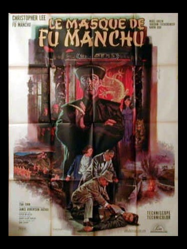Affiche du film LE MASQUE DE FU MANCHU - THE FACE OF FU MANCHU