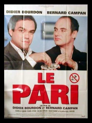 Affiche du film LE PARI