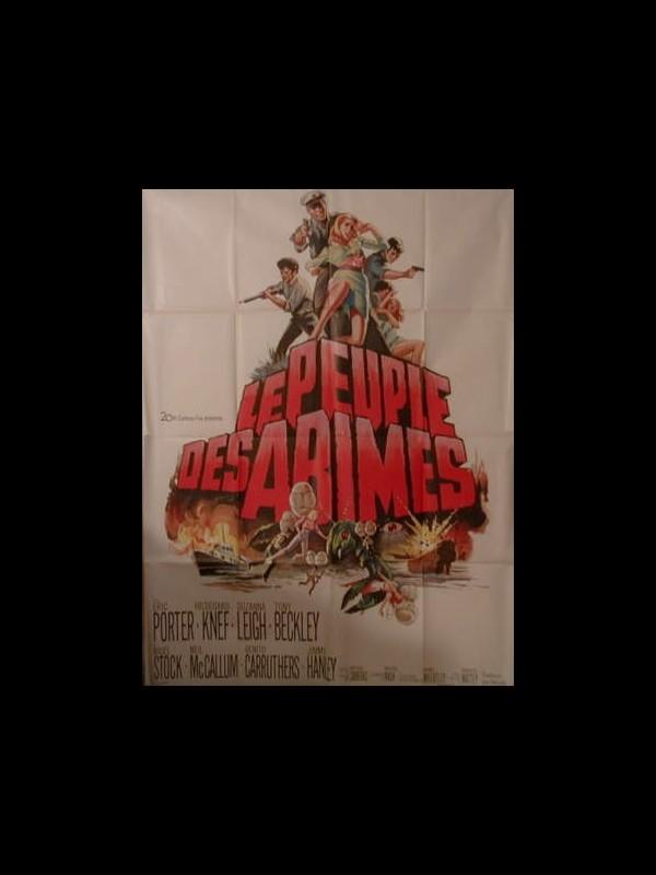 Affiche du film LE PEUPLE DES ABIMES - THE LOST CONTINENT