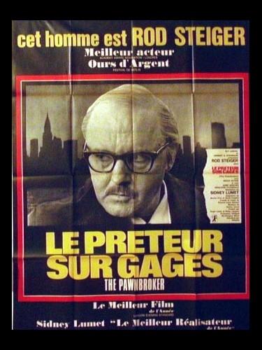 Affiche du film LE PRETEUR SUR GAGES - THE PAWNBROKER