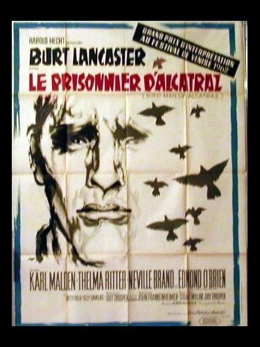 Affiche du film LE PRISONNIER D'ALCATRAZ - BIRDMAN OF ALCATRAZ