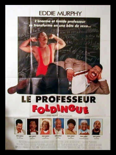 Affiche du film LE PROFESSEUR FOLDINGUE - THE NUTTY PROFESSOR