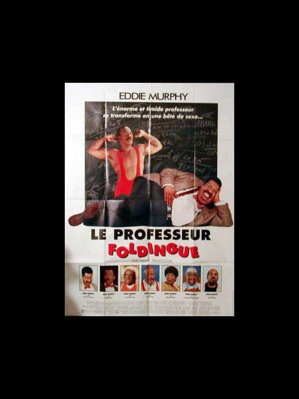 Affiche du film LE PROFESSEUR FOLDINGUE - THE NUTTY PROFESSOR
