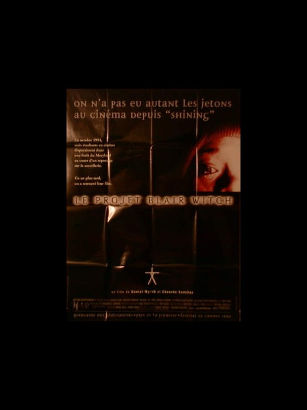 Affiche du film LE PROJET BLAIR WITCH - THE BLAIR WITCH PROJECT