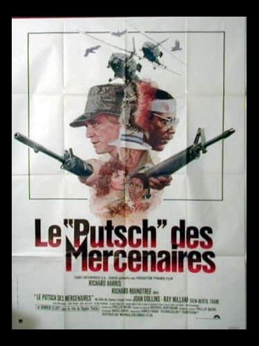 Affiche du film LE PUTSCH DES MERCENAIRES - GAME FOR VULTURES