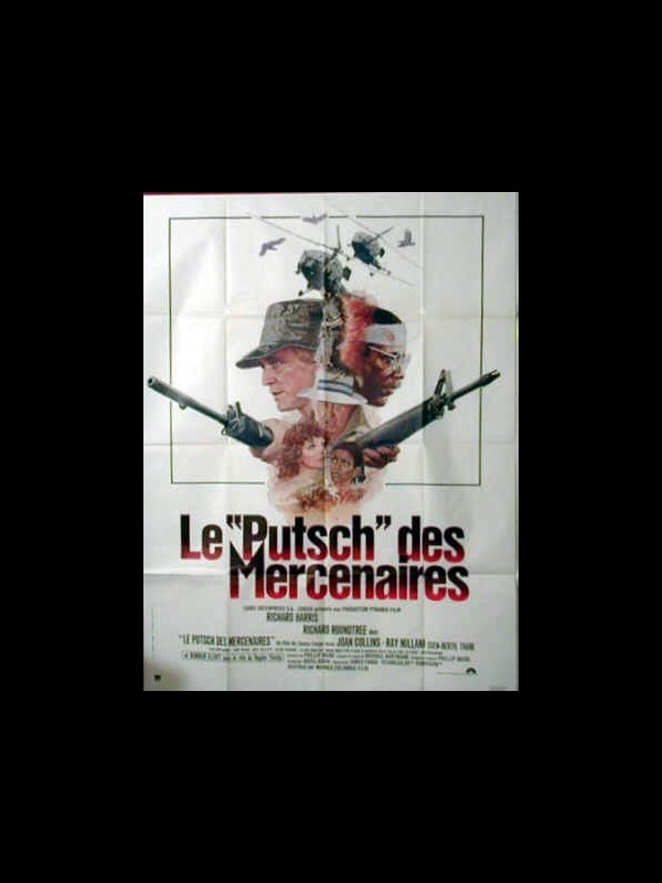 Affiche du film LE PUTSCH DES MERCENAIRES - GAME FOR VULTURES