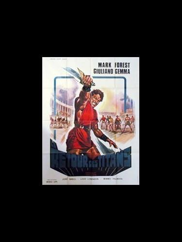 Affiche du film LE RETOUR DES TITANS (LE)