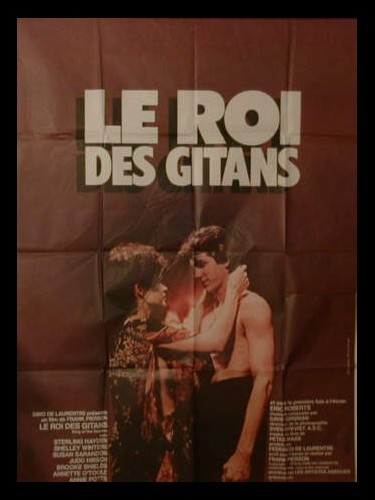 Affiche du film LE ROI DES GITANS - KING OF THE GYPSIES