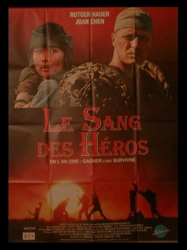 Affiche du film LE SANG DES HEROS - THE BLOOD OF HEROES