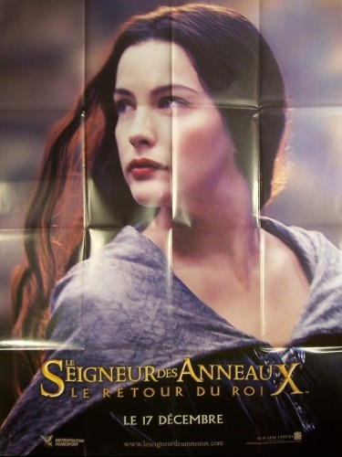 Affiche du film LE SEIGNEUR DES ANNEAUX : LE RETOUR DU ROI (ARWEN)