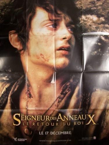 Affiche du film LE SEIGNEUR DES ANNEAUX : LE RETOUR DU ROI (FRODDON)