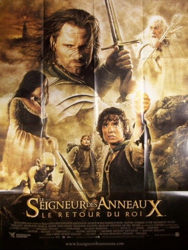 Affiche du film LE SEIGNEUR DES ANNEAUX : LE RETOUR DU ROI 3 - LORD OF THE RINGS (THE) : THE RETURN OF THE KING 3