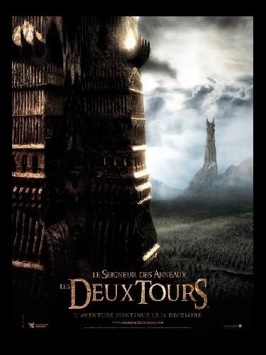 Affiche du film LE SEIGNEUR DES ANNEAUX : LES DEUX TOURS (PREVENTIVE) 2