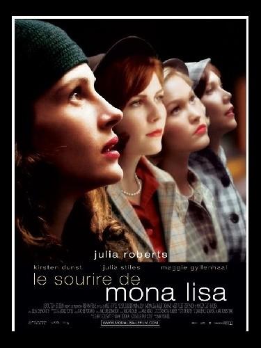 Affiche du film LE SOURIRE DE MONA LISA - MONA LISA SMILE
